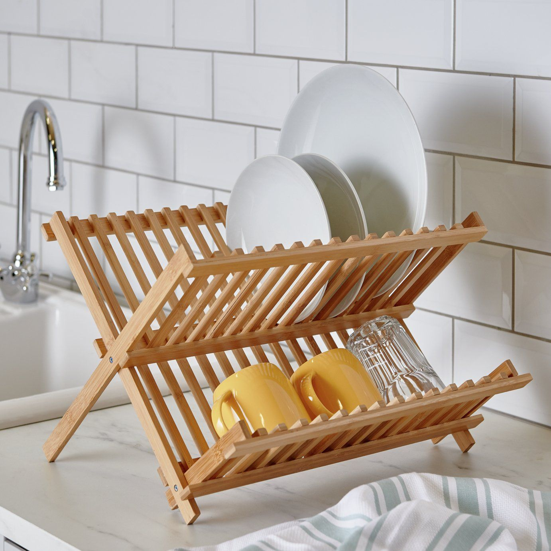 Maison by Premier Wooden Dish Rack