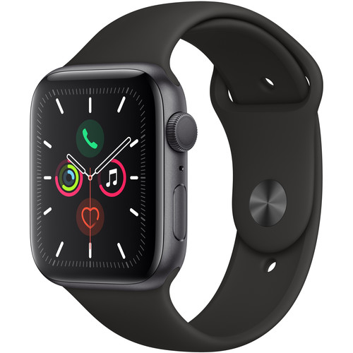 Apple Watch Series 5 (GPS Only, 44mm, Space Gray Aluminum