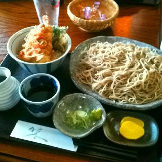 そば!Soba noodles.