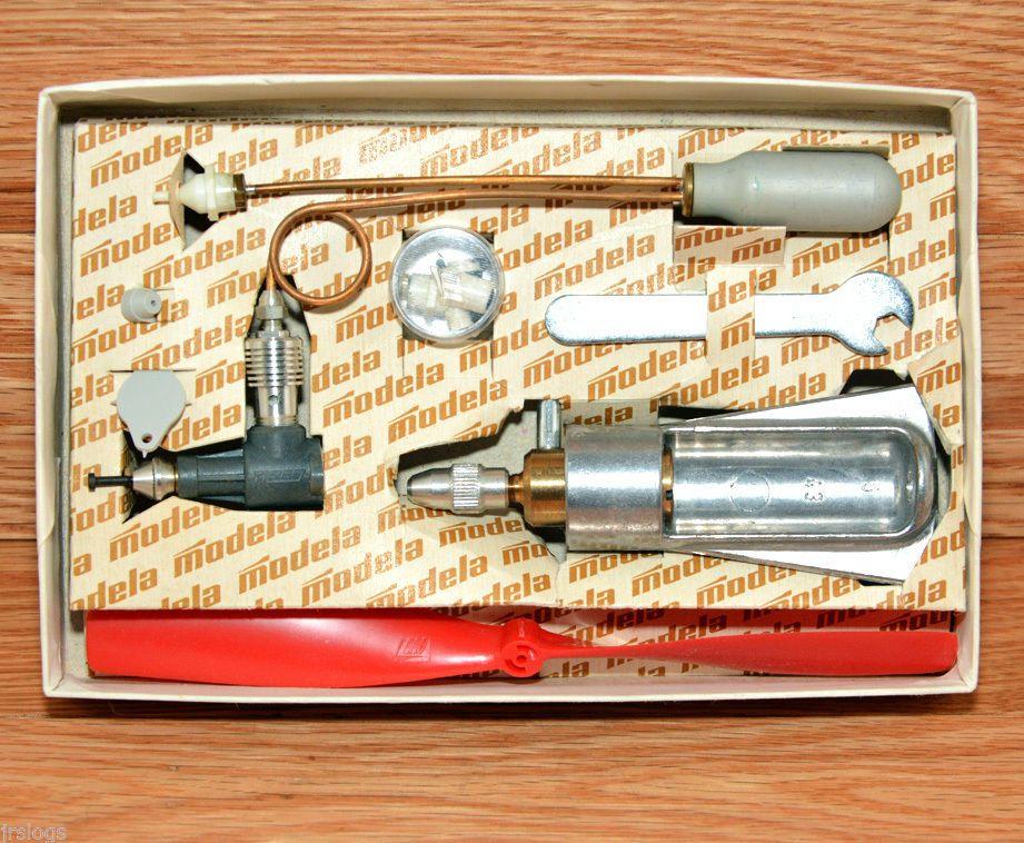 Vintage 3700 Modela CO2 0 27CCM Papers Accessories Model
