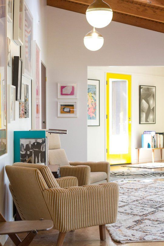 10 Unexpected Ways to Add Just a Tiny Kick of Color (That's Not a Throw Pillow) | Apartment Therapy