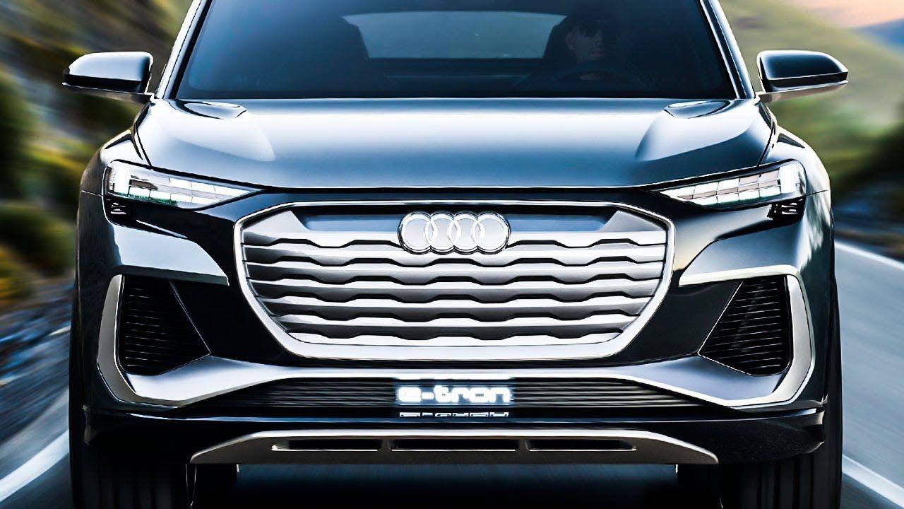 2022 Audi Q4 Sportback E Tron Best Electric Suv Best Electric Suv Audi Q4 Audi