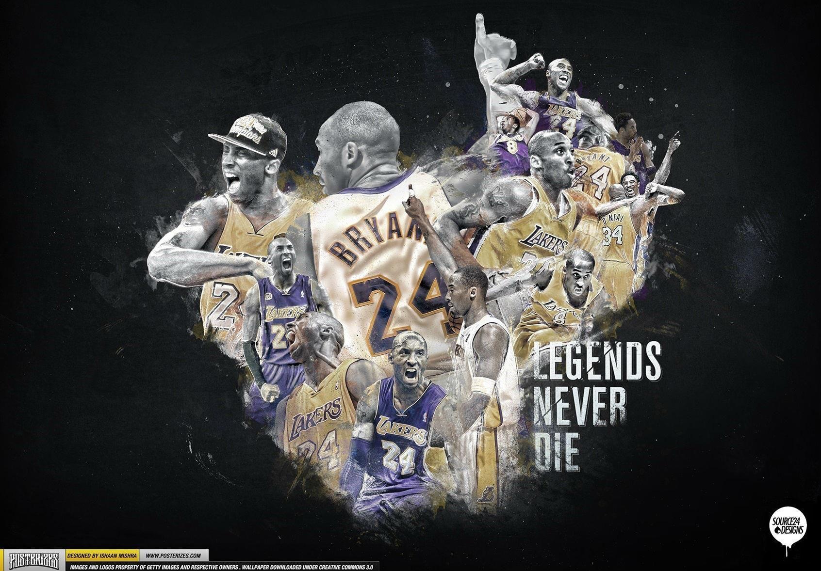 Legends Never Die Kobe Bryant Wallpaper Kobe Bryant Kobe