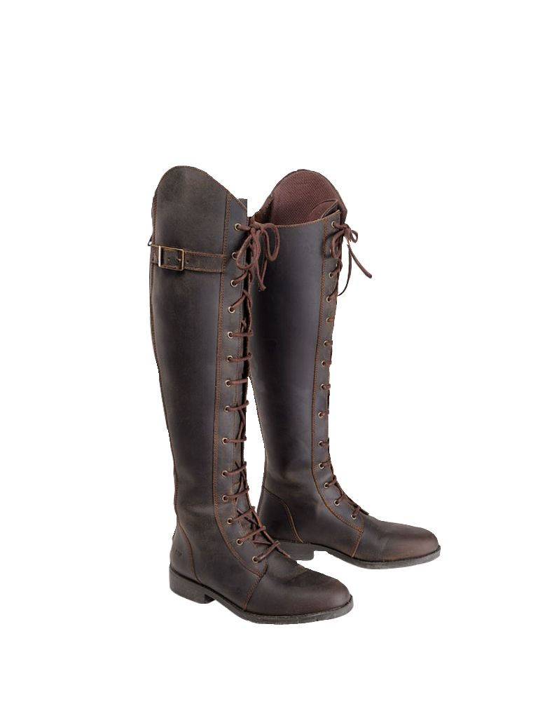 I love the equestrian style, and this pair of ridingboots is just perfect.