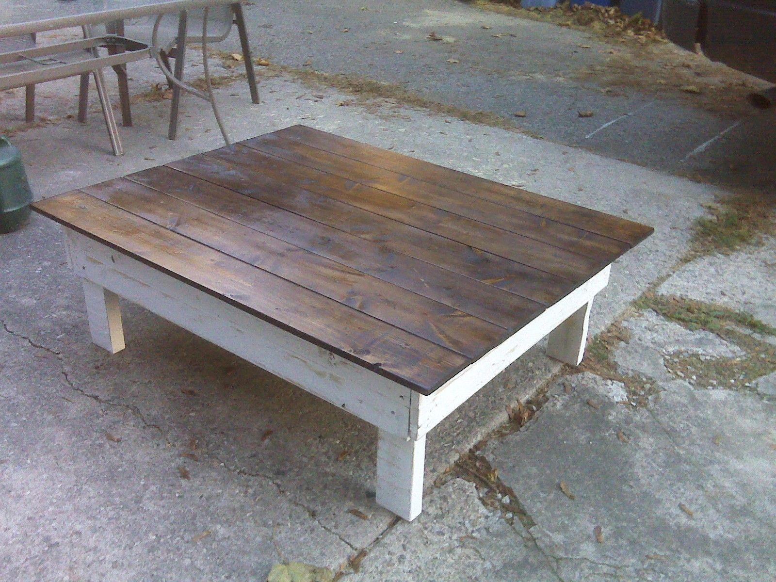 Pallet Coffee Table 4u0027 x 3u0027 x