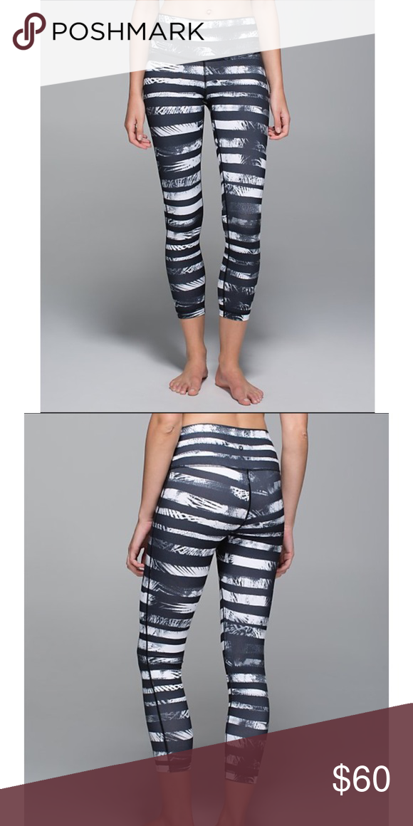 bc3c150893d5b0 Lululemon wunder under pant // shady palms