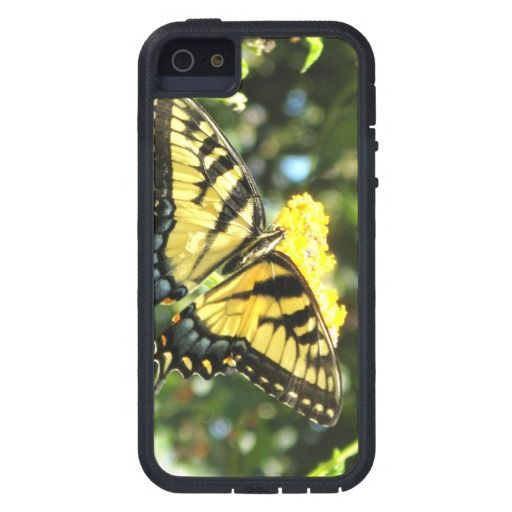Yellow Swallowtail Butterfly Photography iPhone 5 Cover #butterfly #photography #iphone5 #swallowtail And www.zazzle.com/naturesmiles*