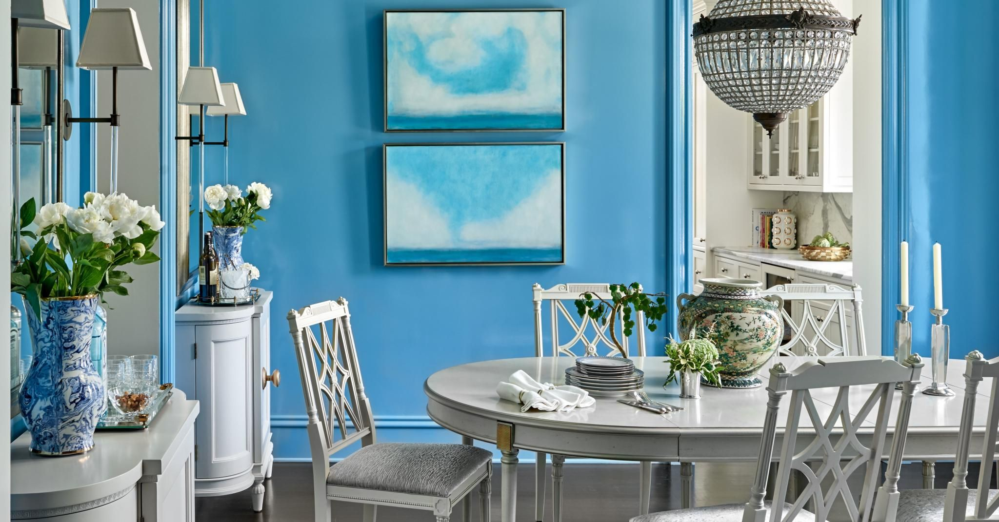 Why I Love Fine Paints of Europe's Cerulean Blue Paint