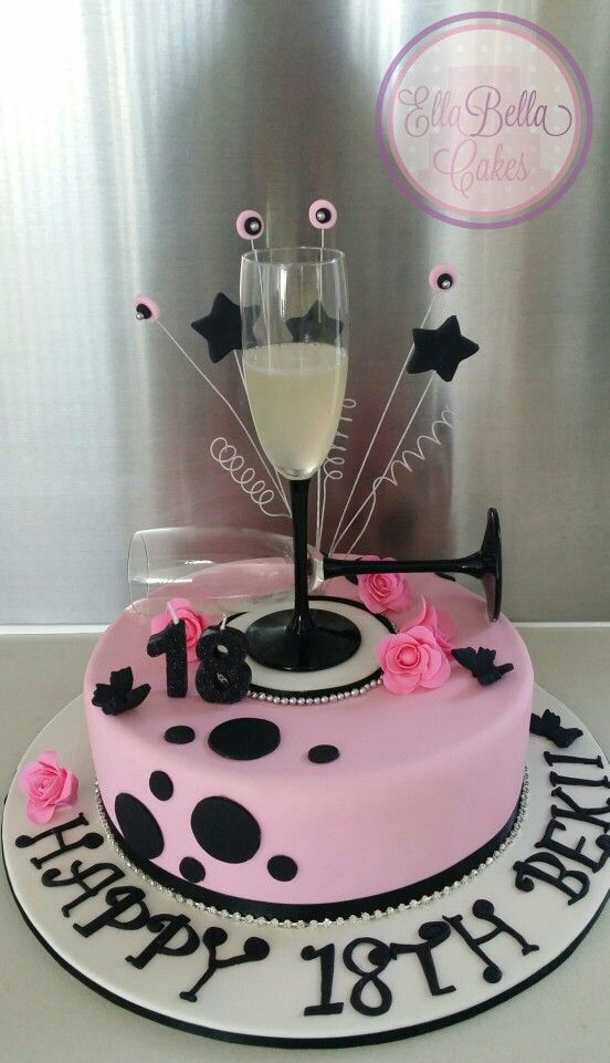 Marvellous Ideas Champagne Birthday Cake Silver Bucket Cakes Torty Sydney Themed
