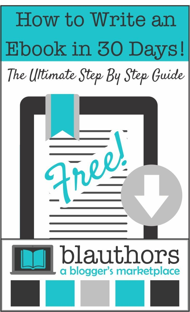 how to write an ebook in 30 days ultimate stepstep