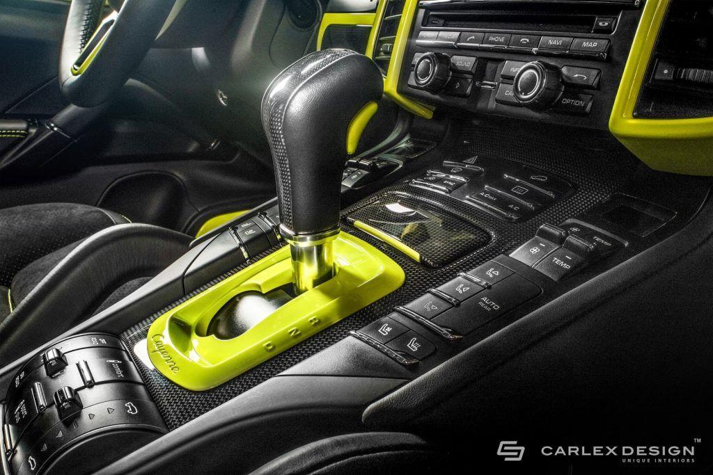 Porsche Cayenne S By Carlex Design Porsche Cayenne Black Interior Porsche