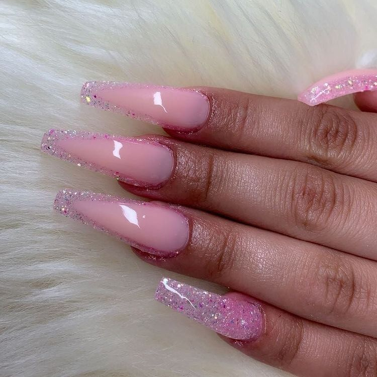 Dm Me For Promos On Instagram Which Pink Set 1 4 Follow Thug Feed For More And Turn On Post Notifi Cute Acrylic Nails Pink Nails Pretty Acrylic Nails
