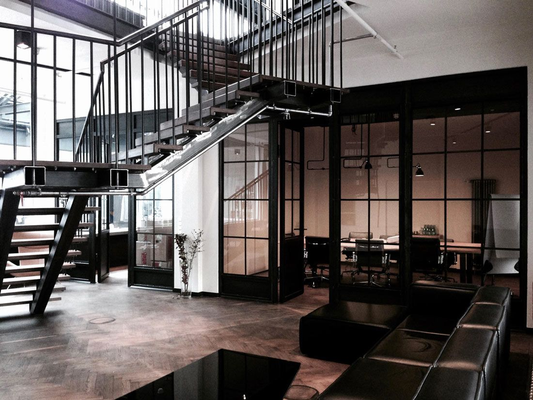 novono interior design for k-mb berlin. renovation of former post, Innenarchitektur ideen