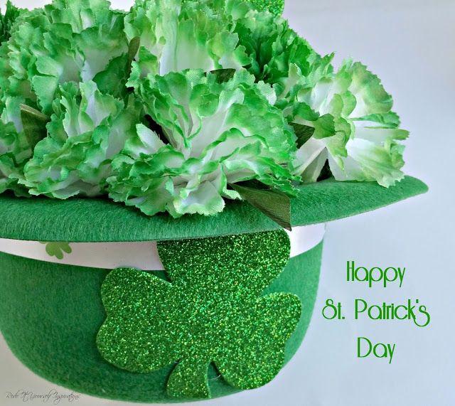 Redo It Yourself Inspirations : DIY St. Patrick's Day Centerpiece