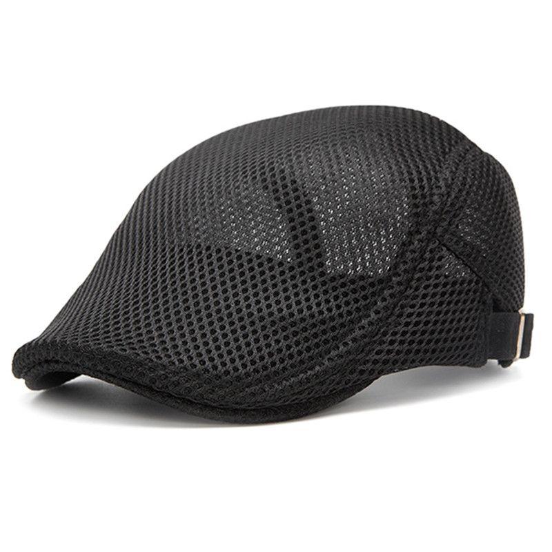 3f448cbaeb90f  US 10.99  Mens Summer Beret Hat Visor Newsboy Cabbie Flat Cap  Mens   Summer  Beret  Visor  Newsboy  Cabbie  Flat
