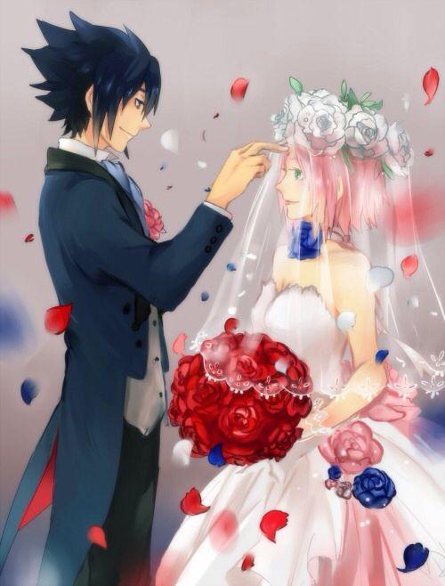 Sasuke and Sakura Wedding | Naruto/ Naruto Shippuden and ...