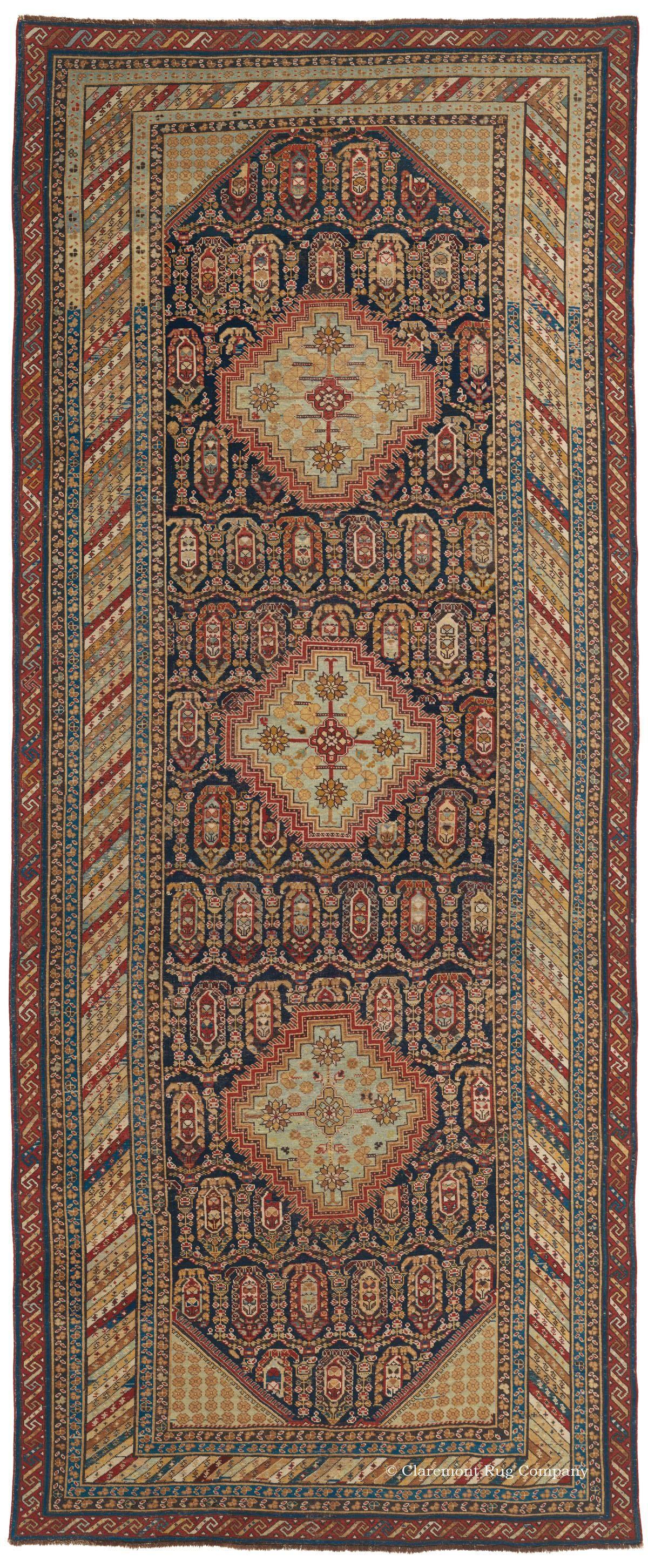 Khila Baku Southeast Caucasian Sold 5ft 2in X 12ft 3in