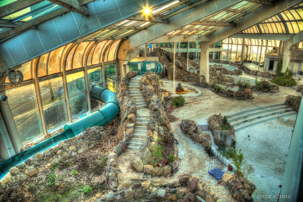 Tropicana rotterdam holland abandoned swimming pool - Campsites in holland with swimming pool ...