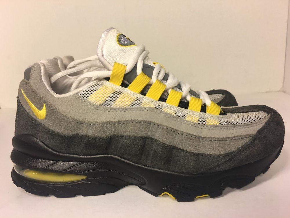 Nike Air Max 95 GS Boys Running Shoes 307565 180 Size 5Y | eBay