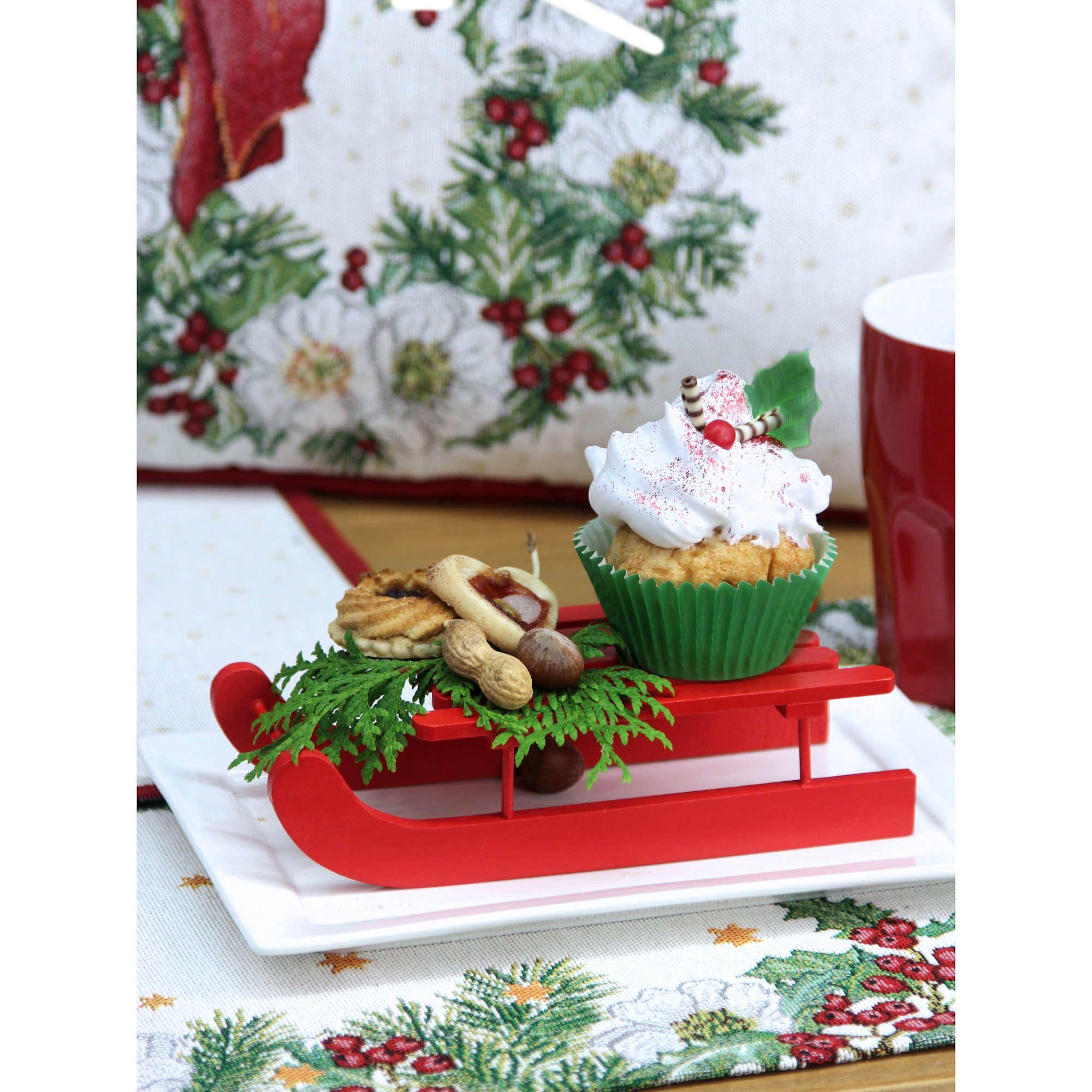 weihnachtsdeko weihnachtskissen und tischl ufer von. Black Bedroom Furniture Sets. Home Design Ideas