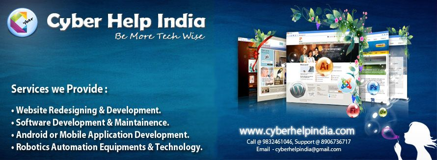 Cyber Help India Is A Siliguri Based It Firm Delivering High Quality Cost Effective Reliable Result Oriented Web And Software Solutions Website Design Company