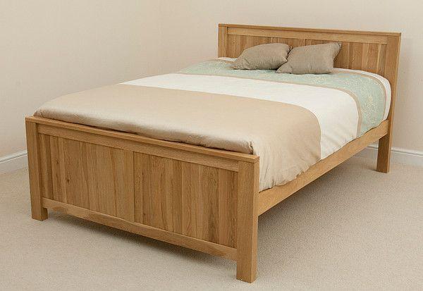 Oakdale Double Bed In Natural Solid Oak Oak Furniture Land Single Bed Oak Furniture Land Solid Oak Furniture