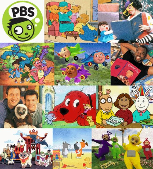 Childhood Cartoon Characters 90s : I used to watch everyone of these shows on pbs books