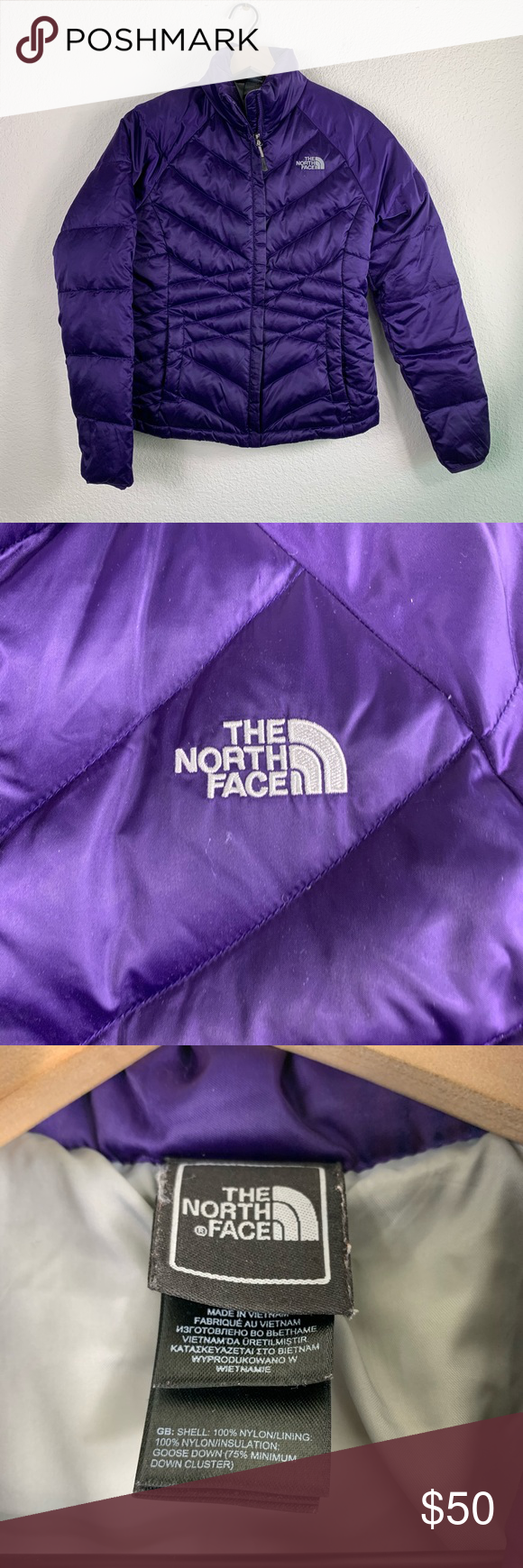 The North Face Puffer Jacket The North Face Puffer Jacket Size Small Color Purple Great Cond North Face Puffer Jacket The North Face North Face Jacket [ 1740 x 580 Pixel ]