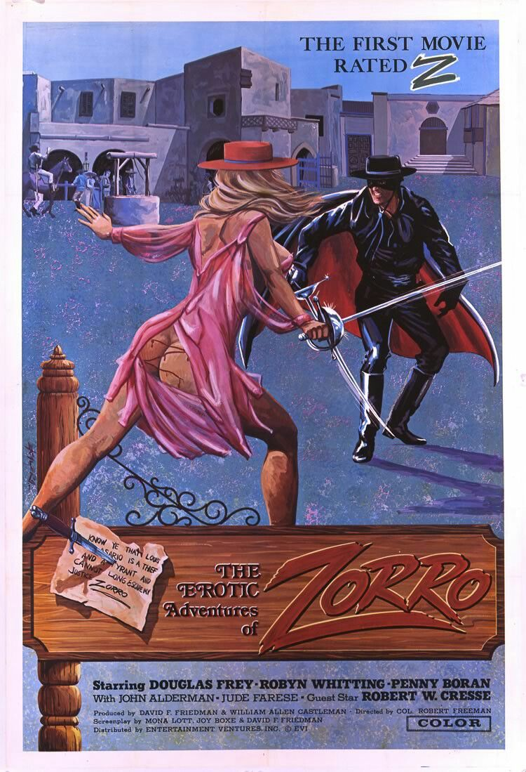 the adventures of zorro 1972 sexploitation pinterest
