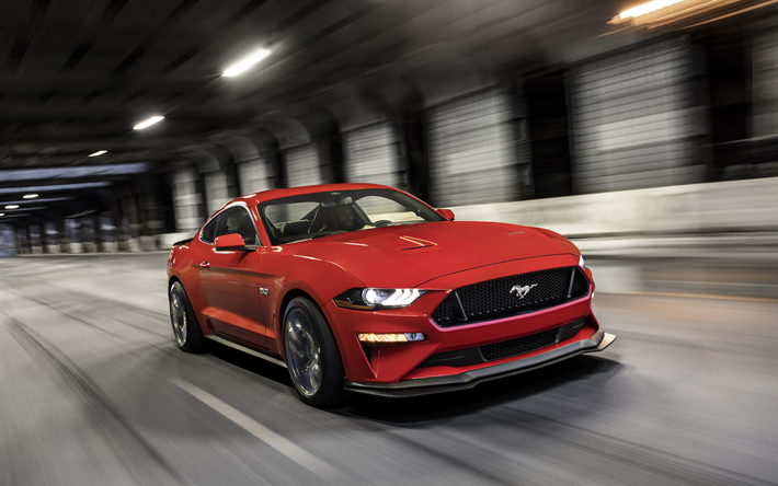 Download Wallpapers 2018 Ford Mustang Gt Performance Package