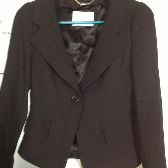 L.K Bennett Black Blazer L.K. Bennett blk blazer poly. l.k Bennett Jackets & Coats Blazers
