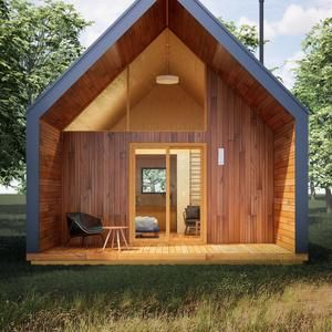 Modern house plans tiny house blueprints small house plans A PDF modern house plan modern tiny house plans prefab tiny house house