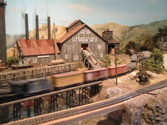 On30 Logging Railroads | Logging layout without a mill