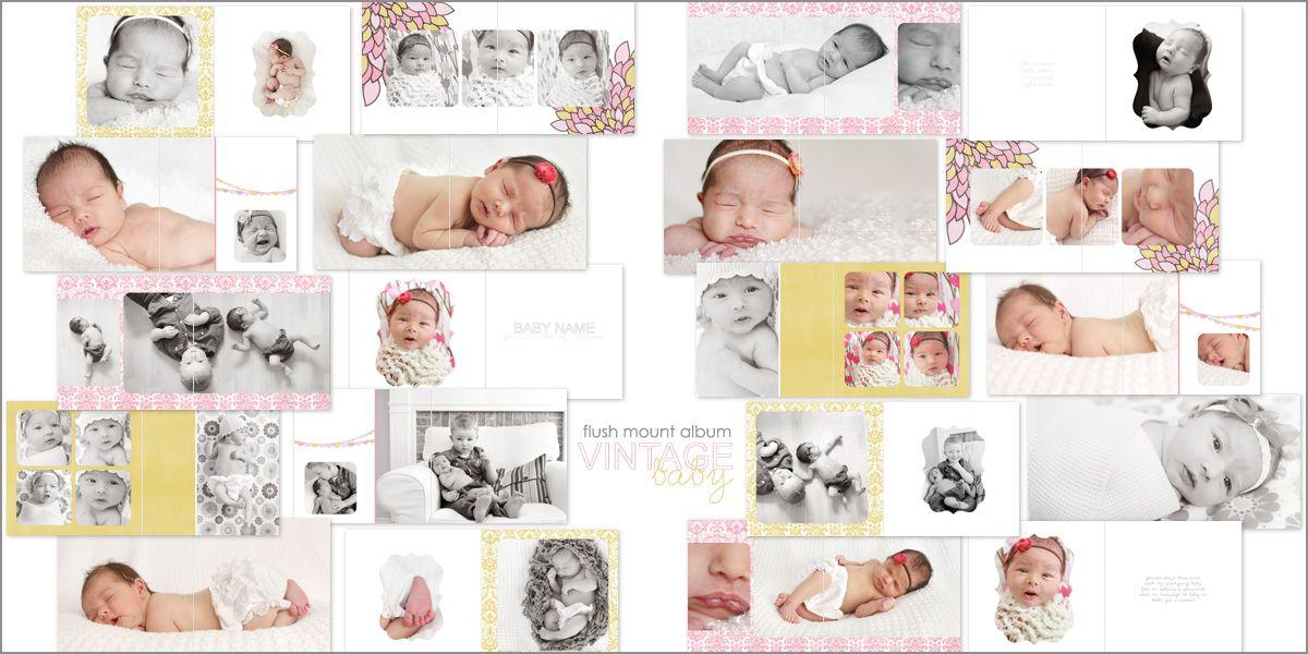 Vintage baby girl flush mount album by Melissa Davis Designs ...