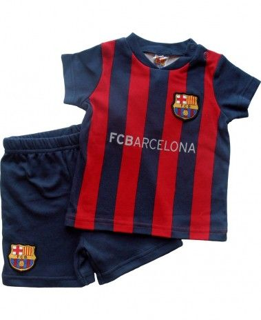 6cd7f6eec FC Barcelona Baby Kit T-Shirt   Shorts