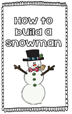 Free how to mini book and many more freebies for a snowy