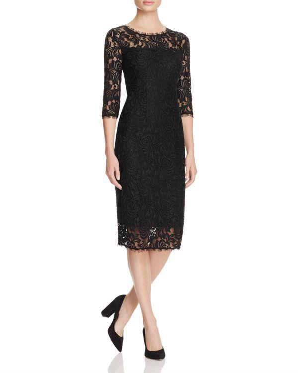 T Tahari Riley Lace Dress