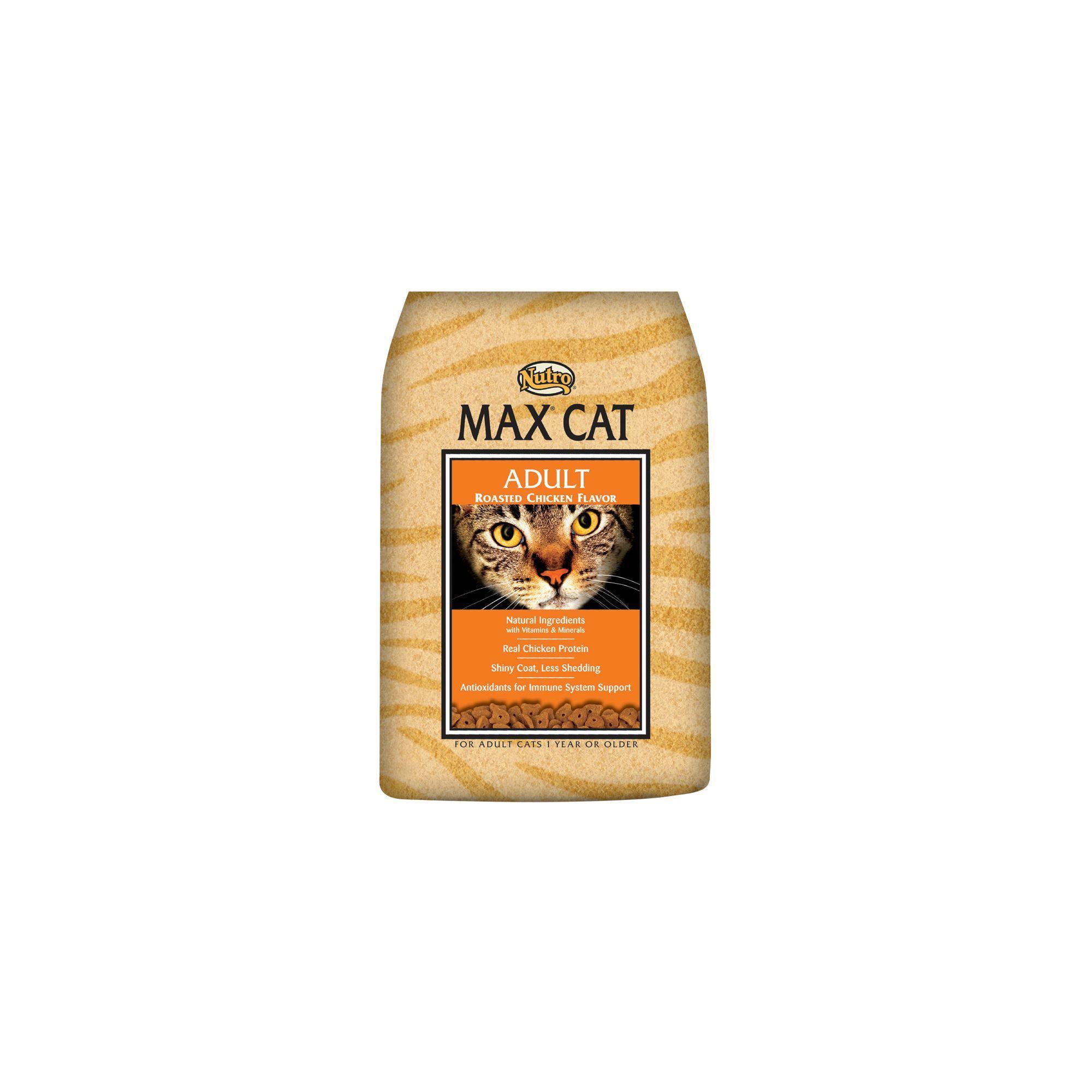 Nutro Max Adult Cat Food Roast Chicken Flavours Cat Food Food