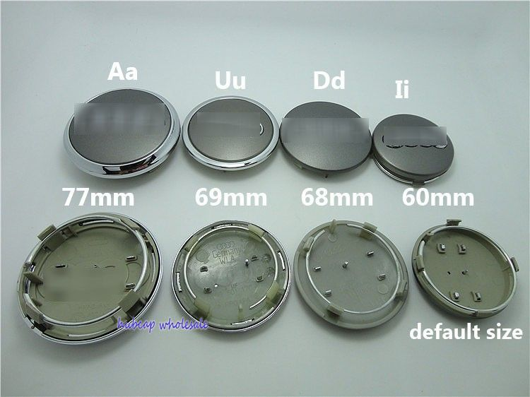 Aliexpresscom Buy DHL Wholesale Pcslot Mm A U D I Wheel - Audi wheel center caps