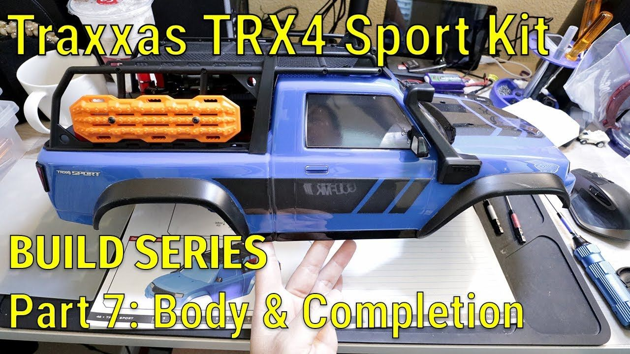 Traxxas TRX4 Sport Kit Build Series Part 7 Body