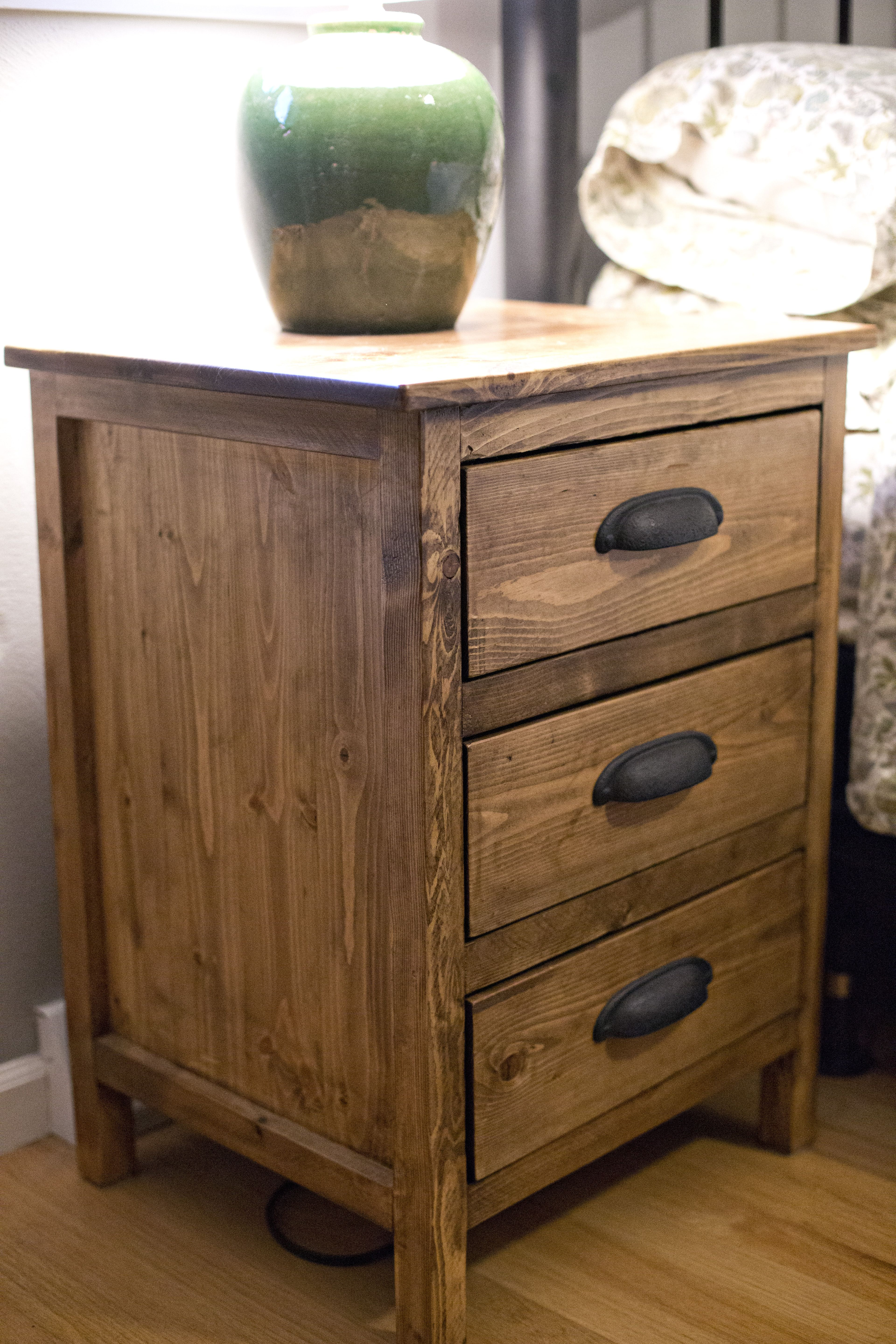 Reclaimed wood night stand do it yourself home projects from ana reclaimed wood night stand do it yourself home projects from ana white solutioingenieria Image collections