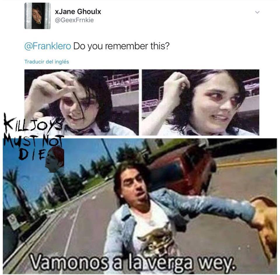 Memes De My Chemical Romance My Chemical Romance Mcr Memes Romance