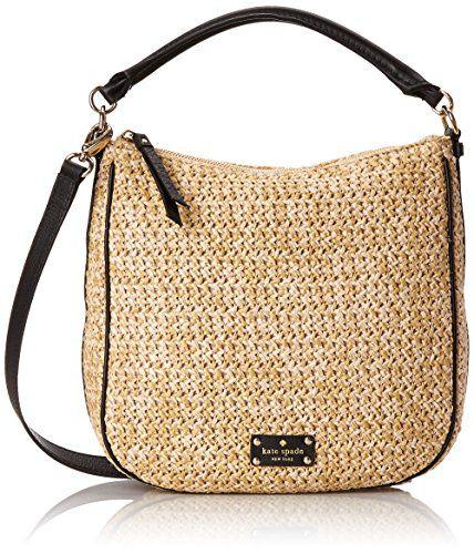 6a914a2c22b5 kate spade new york Cobble Hill Straw Small Ella Shoulder Bag ...