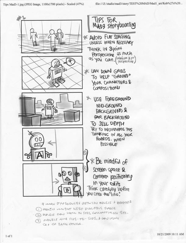 storyboard design notes by purgetheory (Design Process, PBL - script storyboard