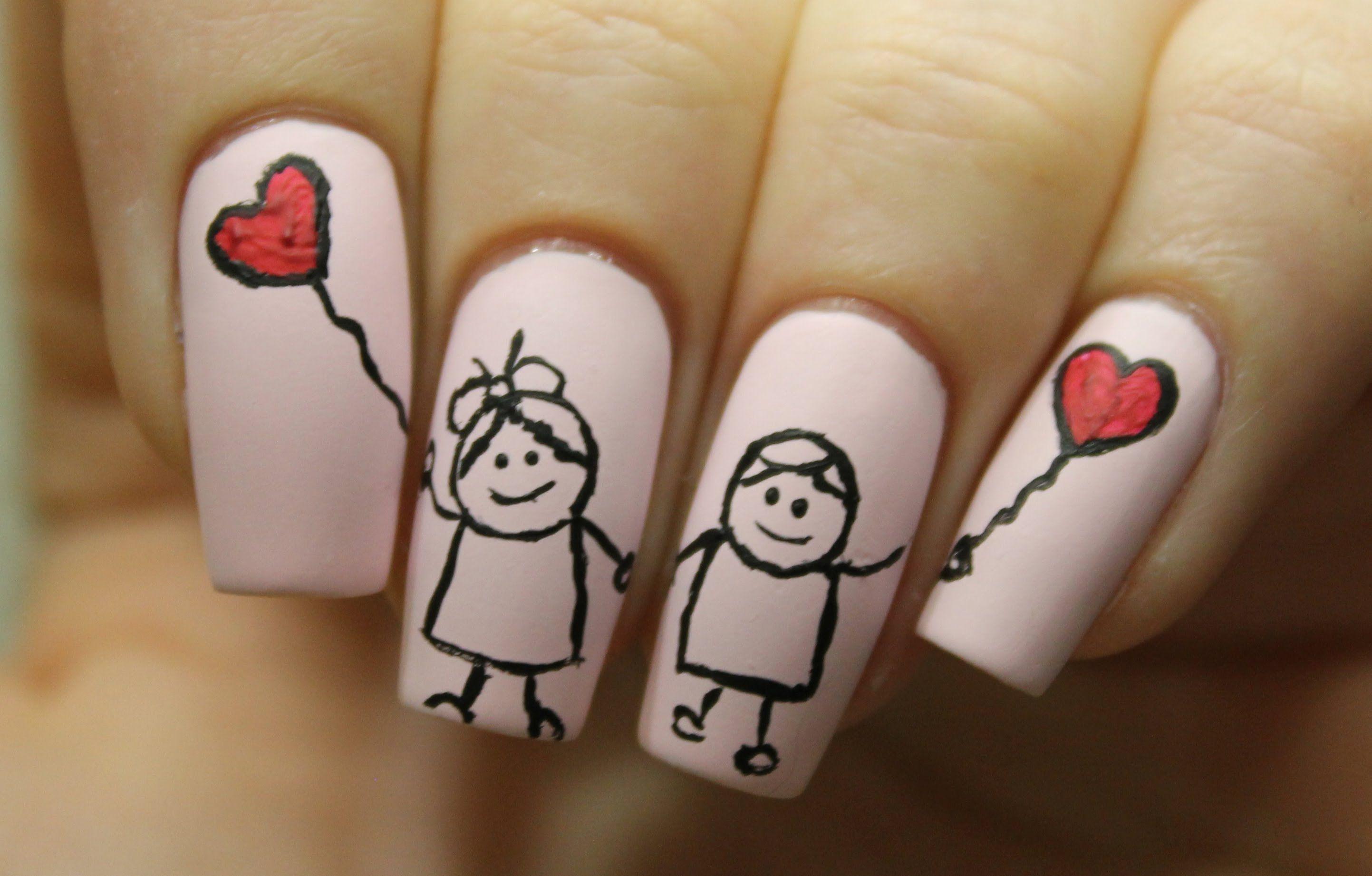 Пусть тебя, дизайн ногтей картинки с надписями
