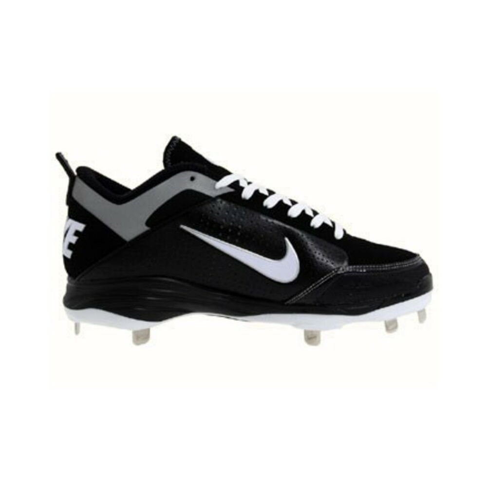 the latest a5699 ae87c Nike Air Show Elite 2 Metal Baseball Cleats Black Metallic Silver Men s  size 14  Nike