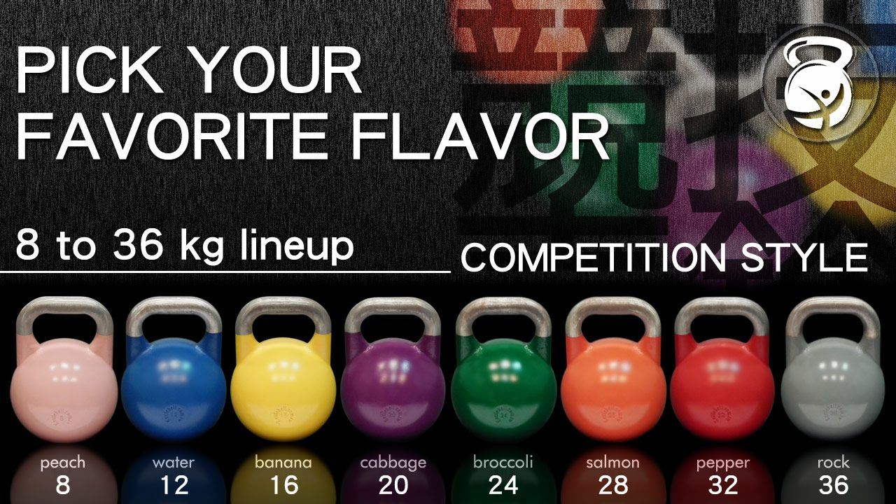Image result for kettlebell competition color
