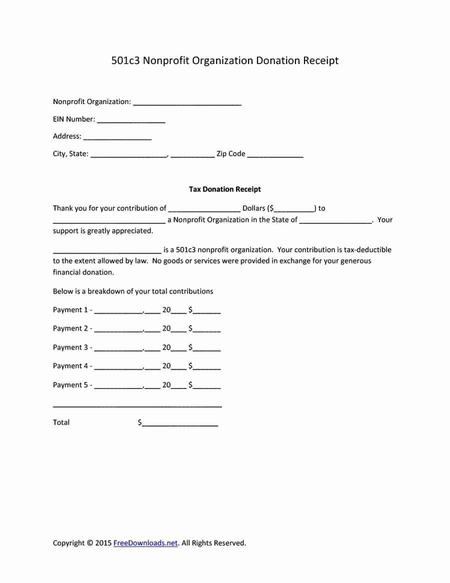 40 donation receipt letter templates in 2020 receipt