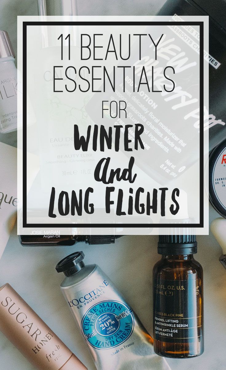 11 Cold Weather Beauty Essential That Works For Winter and Long Flights -