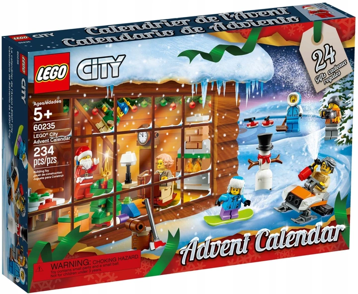 Lego City Kalendarz Adwentowy 60235 8468615510 Allegro Pl Lego City Advent Calendar Lego City Lego Advent